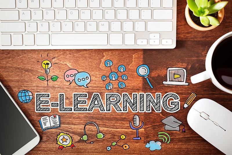 eLearning and keyboard