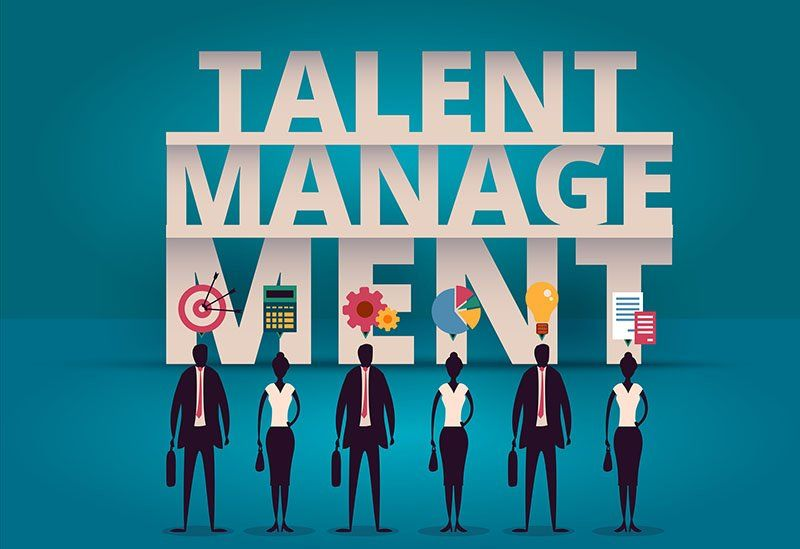 Business talent management concept.