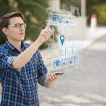 Augmented reality map