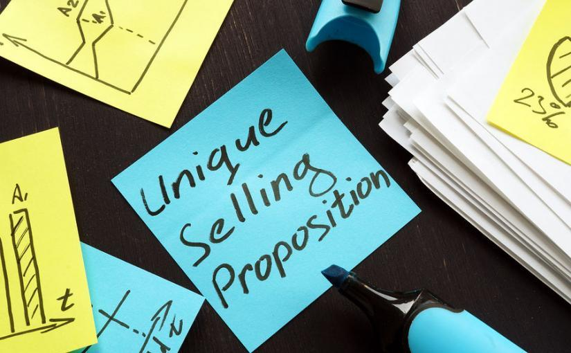 Unique Selling Proposition Usp Concept, Marketing Reports And Gr
